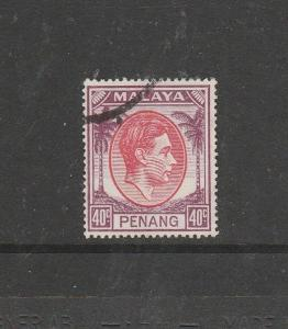 Malaya Penang 1949/52 40c FU SG 18