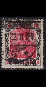 GERMANY REICH Danzig [1920] MiNr 0014 ( OO/used )