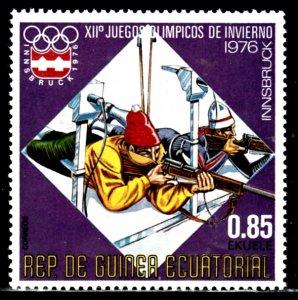 Equatorial Guina, SW1037, MNH, 1978, Winter Olympics, (AA02025)
