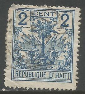 HAITI 27 VFU ARMS Y093-5