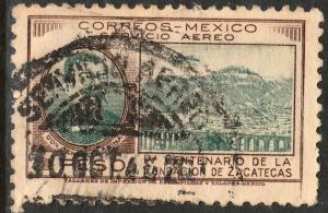 MEXICO C164, $1P 400th Anniversary of Zacatecas. Used. (883)
