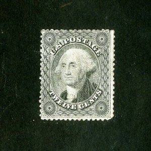 US Stamps # 36 Fresh dist OG LH Scott Value $1,750.00