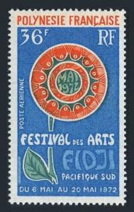 Fr Polynesia C86,MNH. Michel 155. South Pacific Festival of Art,1972.