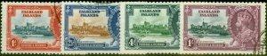 Falkland Islands 1935 Jubilee Set of 4 SG139-142 V.F.U (2)