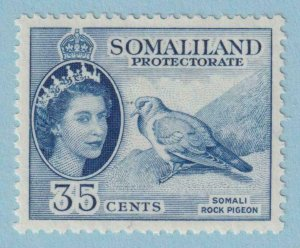 SOMALILAND PROTECTORATE 133  MINT HINGED OG * NO FAULTS EXTRA FINE !