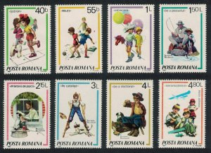 Romania Children's Games and Activities 8v SG#4668-4675