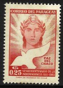Paraguay 1961 Scott# 589 MH