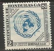 HONDURAS C223 VFU UN 213F-5