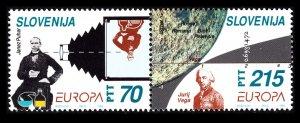 1994 Slovenia 80-81Paar Europa Cept 7,50 €