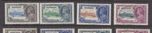 SEYCHELLES, 1935 Silver Jubilee set of 4, used.