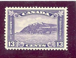 Canada #201 Mint VF NH