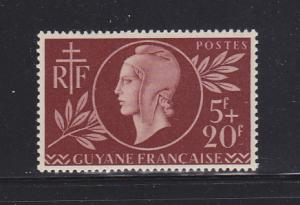 French Guiana B12 Set MH Red Cross