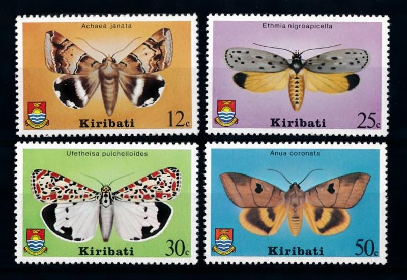 [70371] Kiribati 1980 Insects Butterflies  MNH