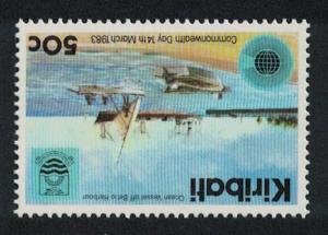 Kiribati Tarawa Commonwealth Day 1v 50c Inverted Watermark SG#199w