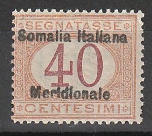 J5 Somalia Postage Due Mint OGNH