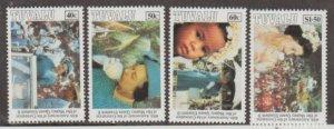 Tuvalu Scott #642-645 Stamps - Mint NH Set