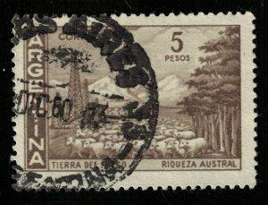 Argentina, 5 pesos, 1969 (T-7336)