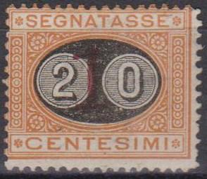 Italy #J26 Fine Unused CV $540.00 (A5346)