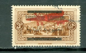 LEBANON(GR. LIBAN) AIR #C22...USED NO THINS...$10.00
