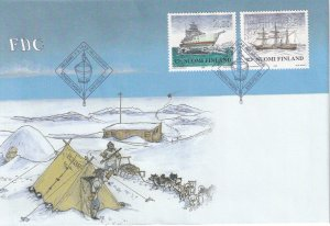 Finland #1076-7 First Day Cover (Z3917L)