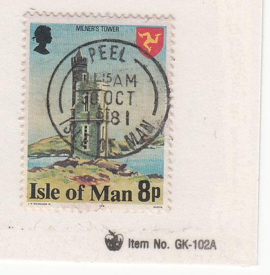 Isle of Man 117a used