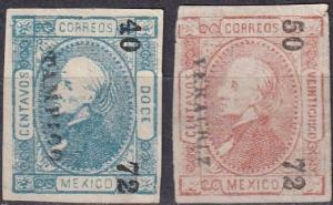 Mexico #94-5  F-VF Unused  CV $10.50 (A19379)