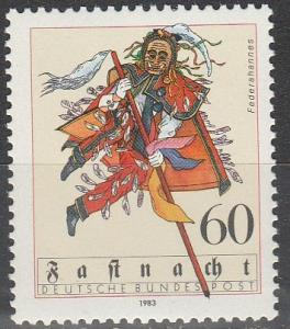 Germany #1390  MNH (S9207)
