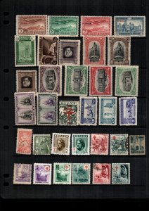 Spain  MH  and used lot of 32