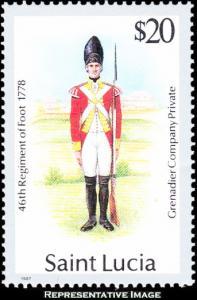 Saint Lucia Scott 879 Mint never hinged.