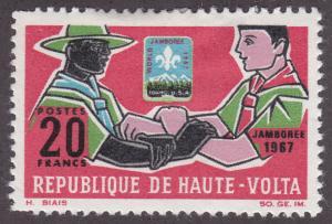 Burkina Faso 178 Boy Scouts 1967