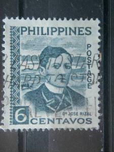 PHILIPPINES, 1959, used 6c, Scott 813