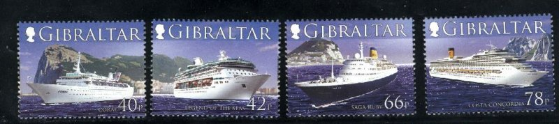Gibraltar 1052-55   M NH VF  PD