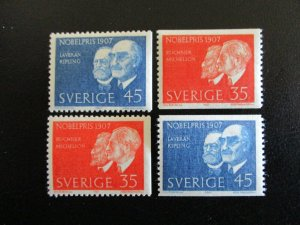 Sweden #769-72 Mint Never Hinged (G7E1) I Combine Shipping!