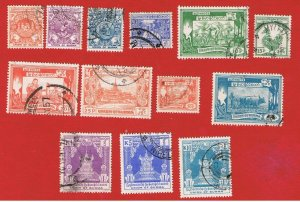 Burma #139//152 VF used Various Scenes  Free S/H