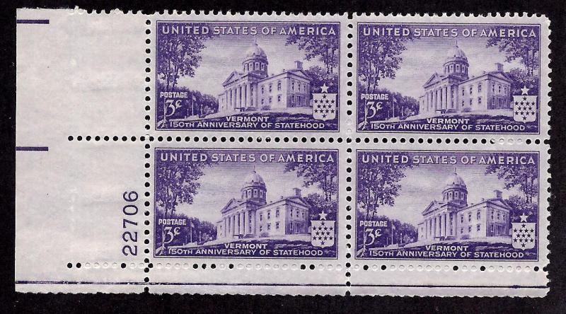 903 Mint,OG,NH... Plate Block of 4