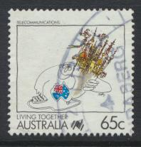Australia SG 1129  SC# 1071  Used / FU   Telecommunications