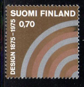 Finland Sc 580 1975 Industrial Art stamp NH