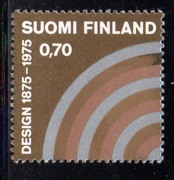Finland Sc 580 1975 Industrial Art stamp NH