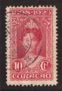 Netherlands Antilles  Curacao  #77  used  1923  Wilhelmina 10c