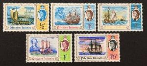 Pitcairn Islands 1967 #67-71, Pitcairn Islands, MNH.
