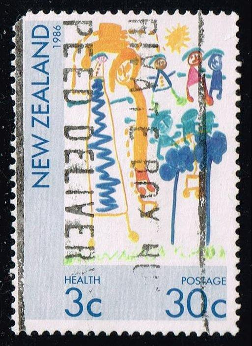 New Zealand #B125 Children's Paintings; Used (0.75)