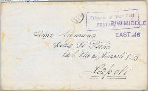 56014 -   EGYPT / WWII -  POSTAL HISTORY:  COVER from P.W. MIDDLE EAST 016  1943