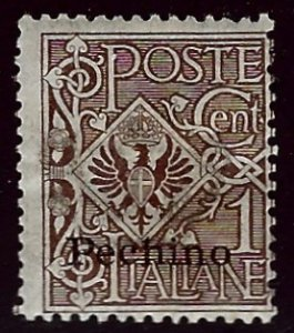 Italy Peking Offices #12 Mint skipped Gum Fine SCV$37.50..Worth a Close Look!
