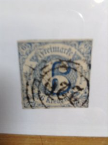 Germany  (Thurn & Taxis) SC #54   Used