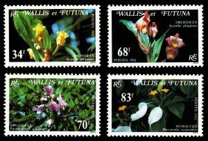 Wallis & Futuna Islands 1982 Scott #283-286 Mint Never Hinged