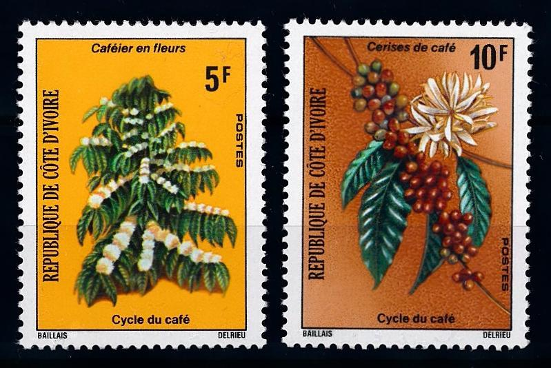 [65897] Ivory Coast 1975 Flora Coffee Plants  MNH