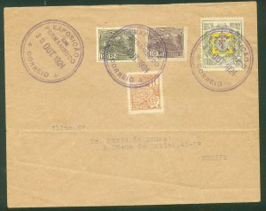 Brazil PERNAMBUCO EXPOSITION COVER WITH SPECIAL POSTMARK..F. (43)