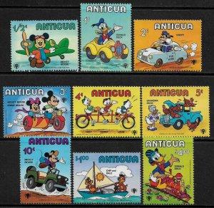 Antigua #562-70 MNH Set - Disney - Year of the Child
