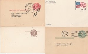 United States Postage Reply cards mint & cancelled