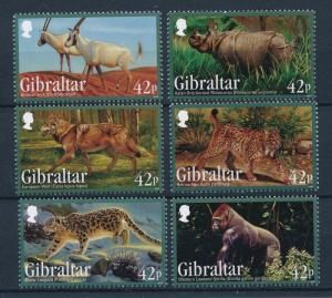 [30193] Gibraltar 2012 Endangered Animals Mammals  MNH
